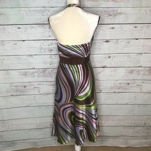 Laundry By Shelli Segal Dresses - Laundry by Shelli Segal, NWT groovy halter dress
